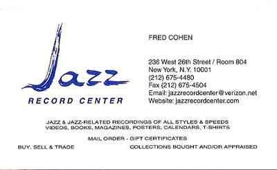 Jazz Record Center